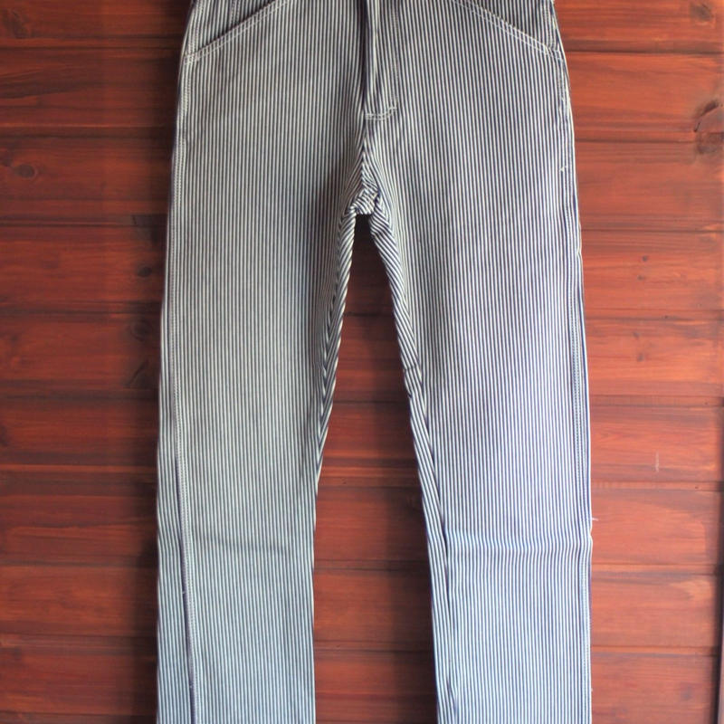 Round House 5 Pocket Pants ( Hickory Stripe )