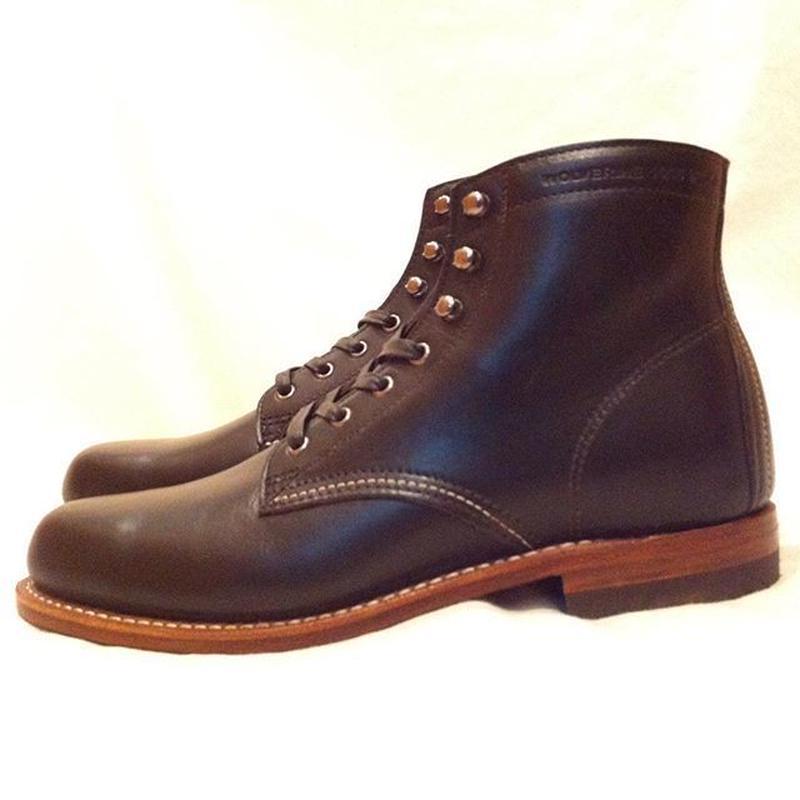 Wolverine 1000 Mile Boot Black