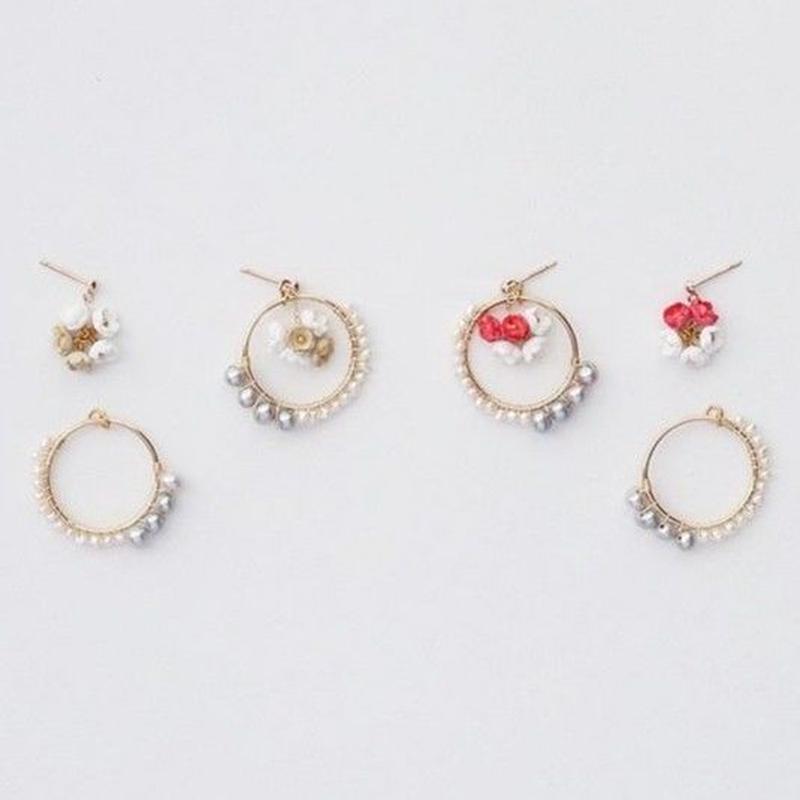 Nano Ring Earrings / Ear clips