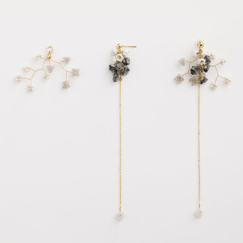 Toki  Earringsピアス - LONG- / eda-S2