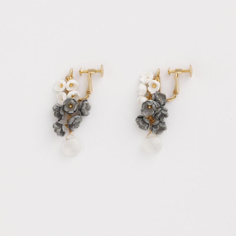 Toki  Ear clipsイヤリング - SHORT-