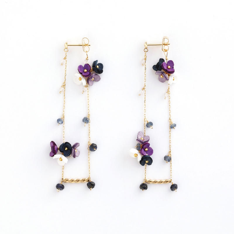 SWING Iong Earringsピアス/Ear clipsイヤリング