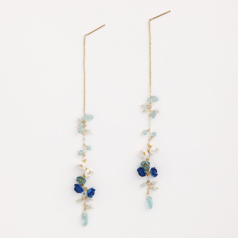 Aqua Drop Earringsピアス/Ear clipイヤリング