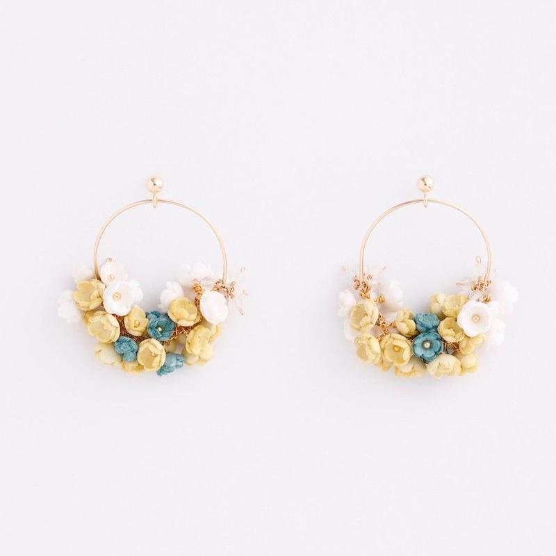 Mimosa large Earringsピアス/Ear clipsイヤリング
