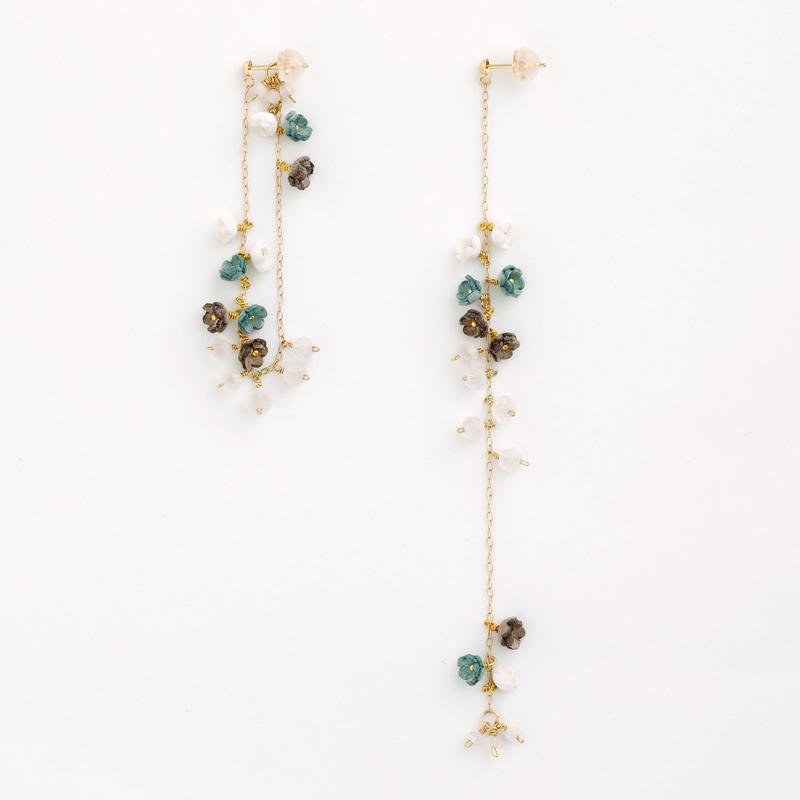 Nano Roop Earringsピアス / Ear clipsイヤリング<long>