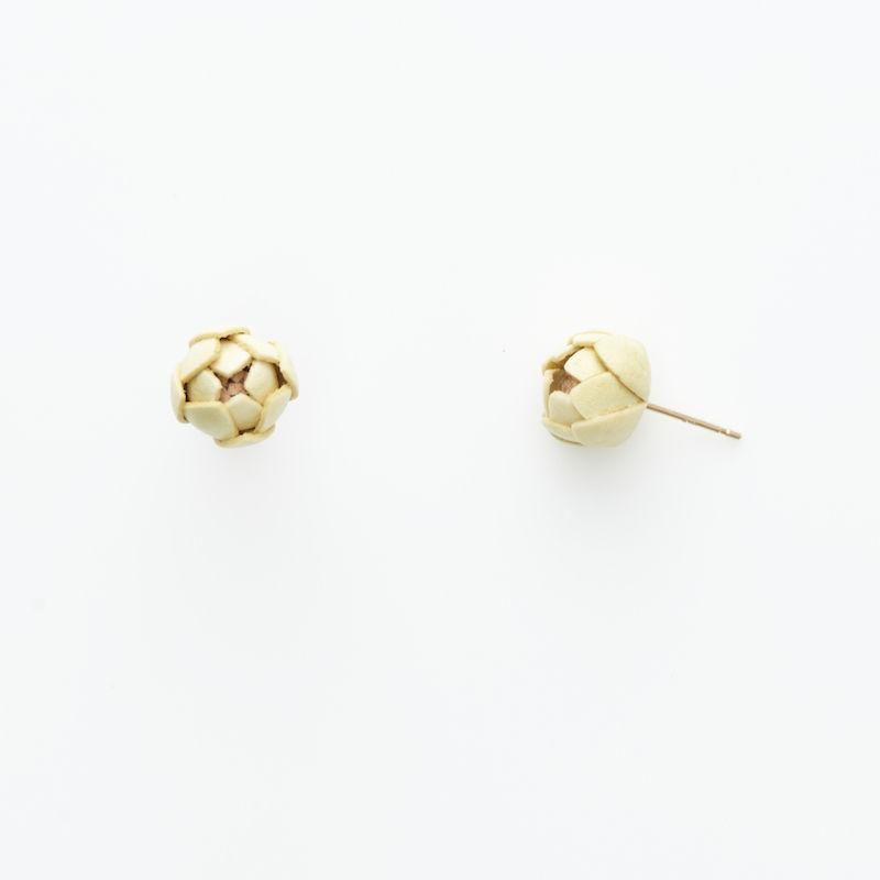 Tsubomi  Earrings   - 花のみ -ピアス