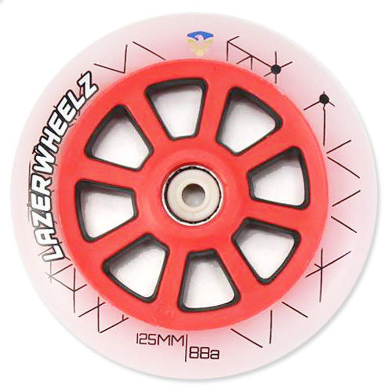 FLYING EAGLE LAZER ウィール RED 125mm/88A