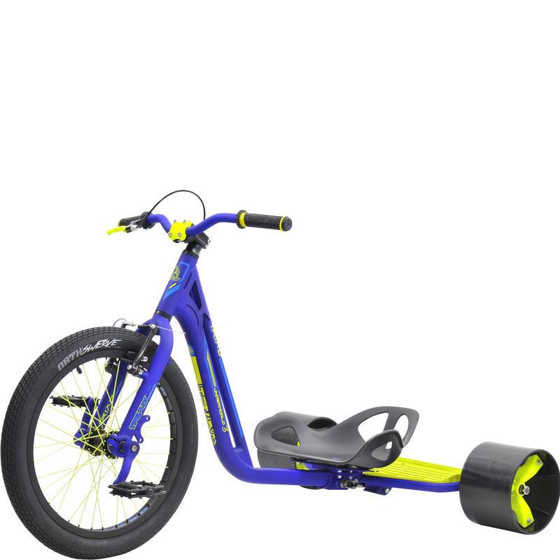 TRIAD Trike Underworld 3 -Blue/NeonYellow