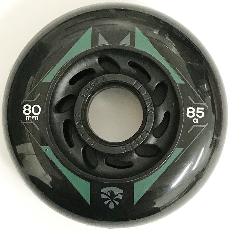 FLYING EAGLE RX Wings Black geometry green ウィール 80mm/85A