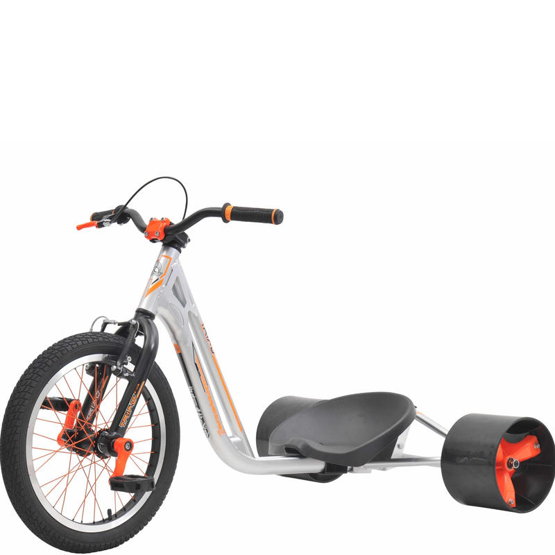 TRIAD Trike Counter Measure 2 - Silver/Orange