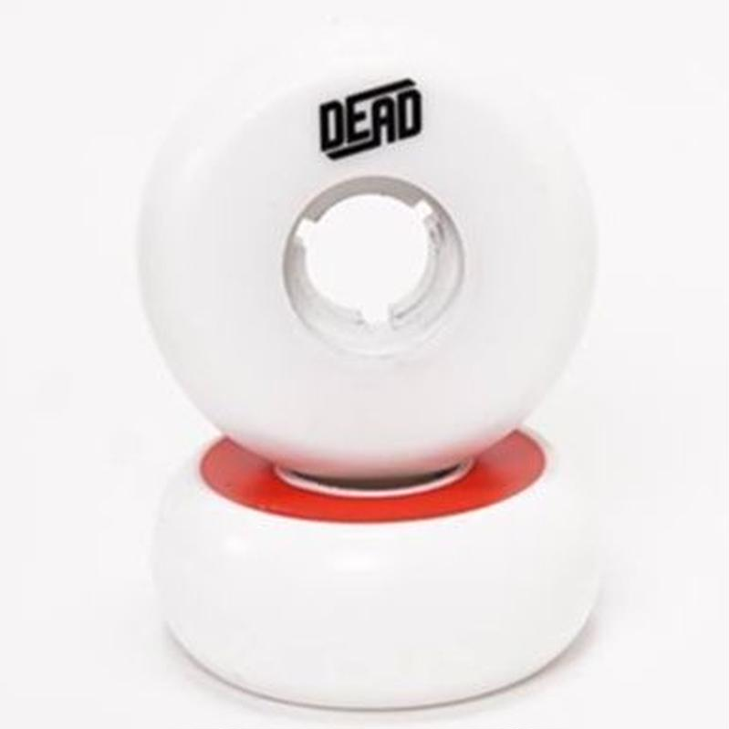 DEAD Wheels TeamWhite  RED RING 58mm92a 4個セット