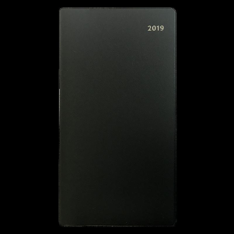 シニア・中高年向け手帳「シニアリー」:ブラック