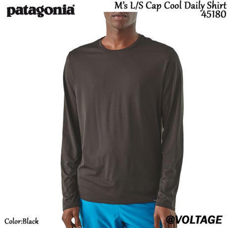 パタゴニア Patagonia M's L/S Cpa Cool Daily Shirt 45180 メンズ・ロングスリーブ・キャプリーン・クール・デイリー・シャツ Black 正規品