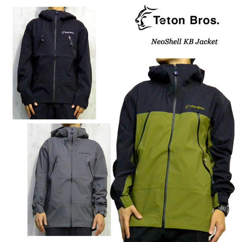 Teton Bros. ティートン ブロス NeoShell KB Jacket Avocade Navy Black Gray メンズ  2019 Spring Summer TB191-04M
