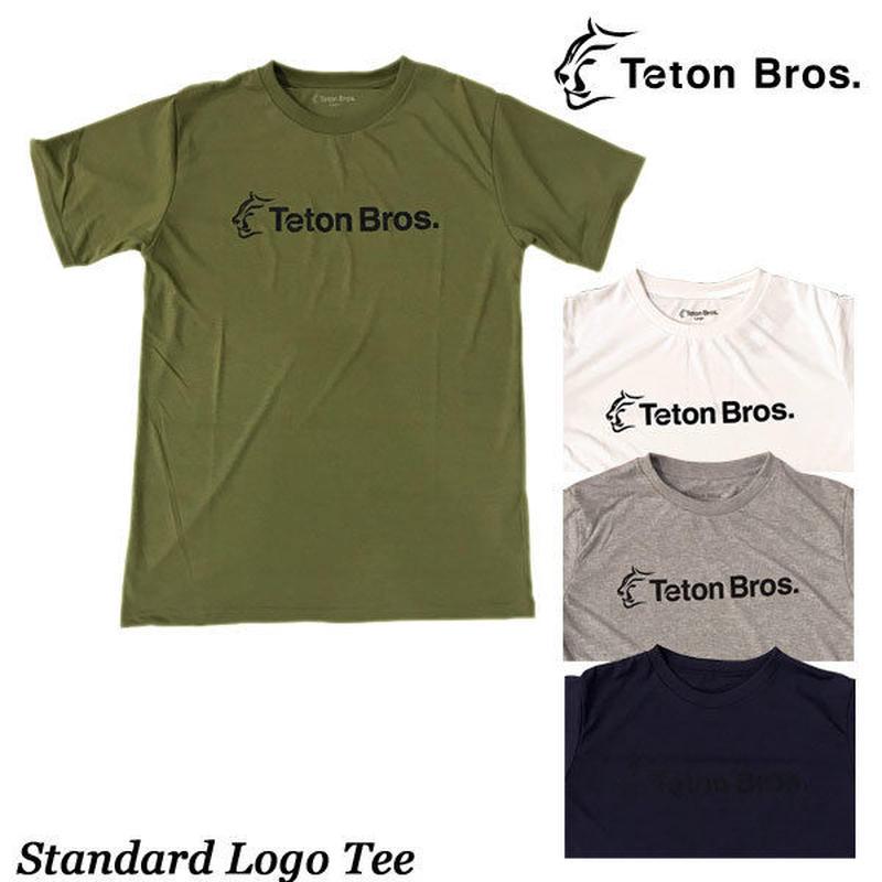 Teton Bros. ティートン ブロス Standard Logo Tee (Men) メンズ 半袖 Tシャツ 速乾 2019 Spring Summer TB191-45M