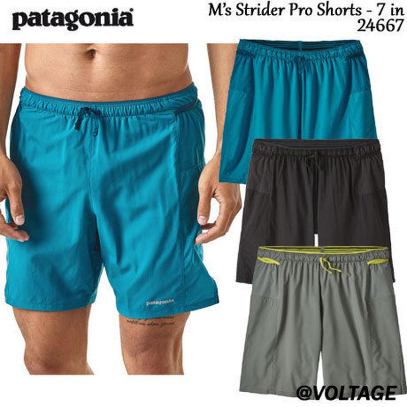 パタゴニア Patagonia M's Strider Pro Shorts - 7 in 24667 メンズ・ストライダー・プロ・ショーツ 7インチ 正規品