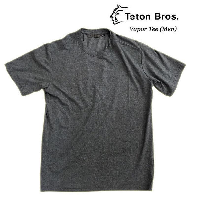 Teton Bros. ティートン ブロス  Vapor Tee (Men)  Dark Shadow  メンズ 半袖 Tシャツ 速乾 2019 Spring Summer TB191-38M