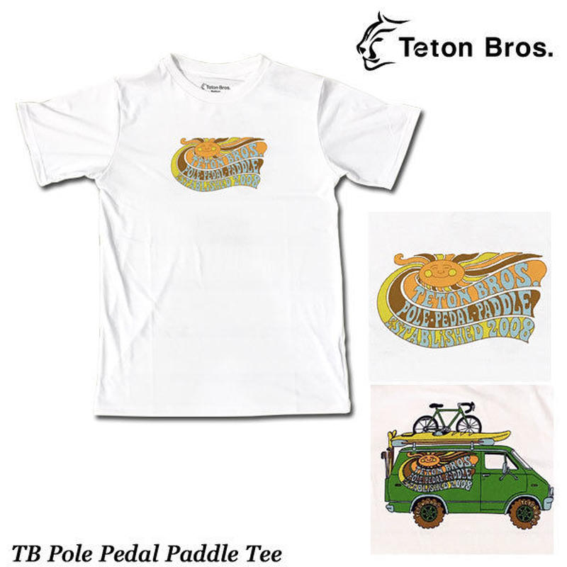 Teton Bros. ティートン ブロス TB Pole Pedal Paddle Tee (Men)  メンズ 半袖 Tシャツ 速乾 2019 Spring Summer TB191-43M