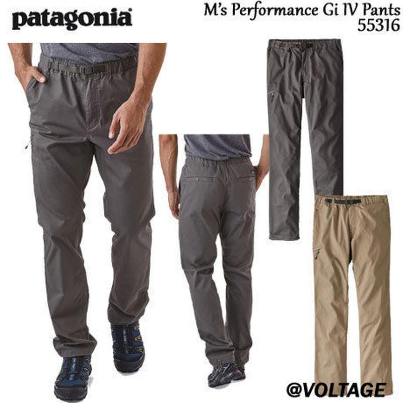パタゴニア Patagonia M's Performance Gi IV Pants 55316 メンズ・パフォーマンス・ギ IV・パンツ 正規品