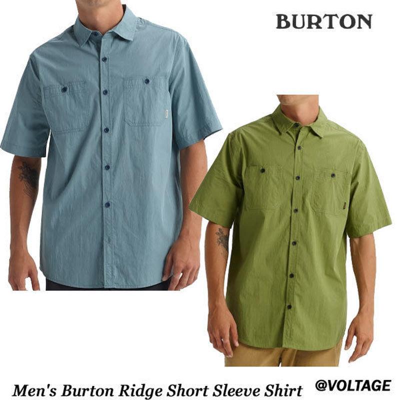 BURTON バートン Men's Burton Ridge Short Sleeve Shirt メンズ 半袖 シャツ 2019 春夏モデル Spring Summer
