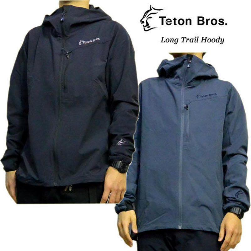 Teton Bros. ティートン ブロス Long Trail Hoody Black Slate メンズ フロントフルジップ フ―ディー 2019 Spring Summer TB191-09M