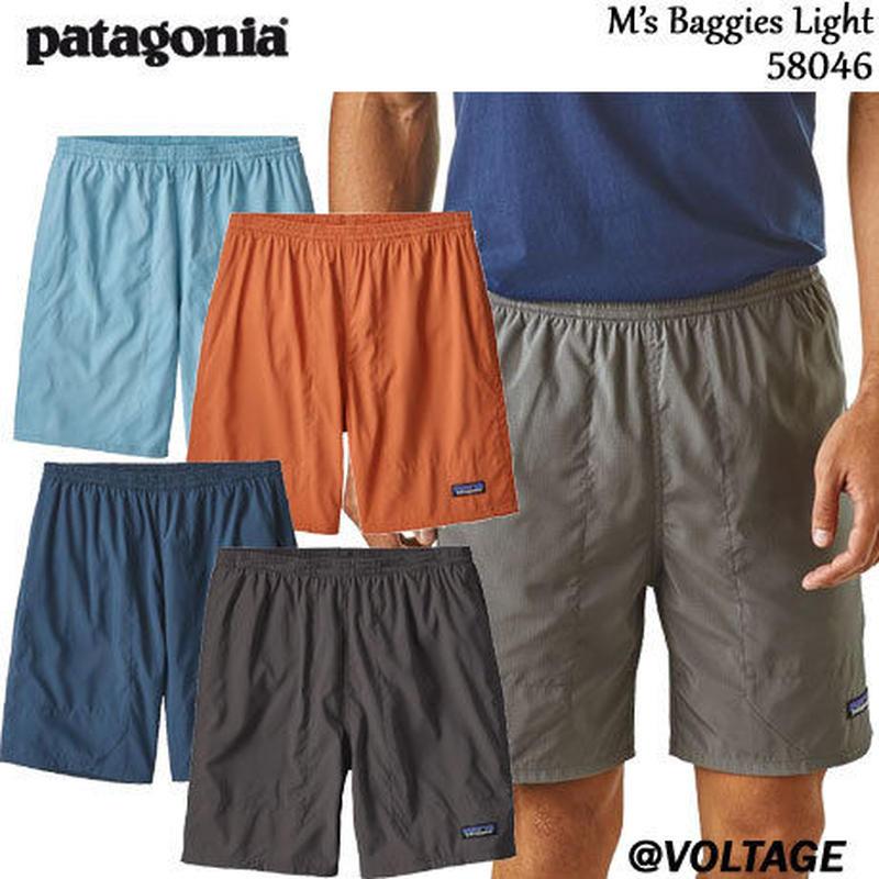 パタゴニア patagonia M's Baggies Lights 58046 メンズ・バギーズ・ライト 6 1/2インチ 正規品 2019 春モデル