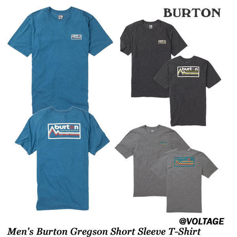 BURTON バートン Men's Burton Gregson Short Sleeve T-Shirt メンズ 半袖 Tシャツ 2019 春夏モデル Spring Summer