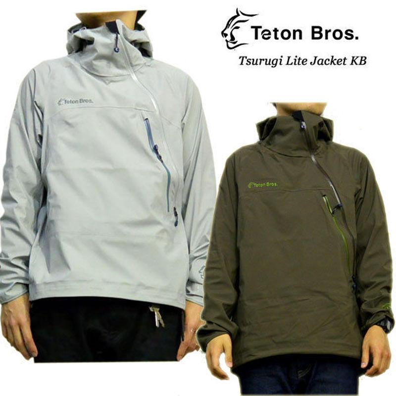 Teton Bros. ティートン ブロス Tsurugi Lite Jacket KB Blue Brown メンズ ジャケット 2019 Spring Summer TB191-03M