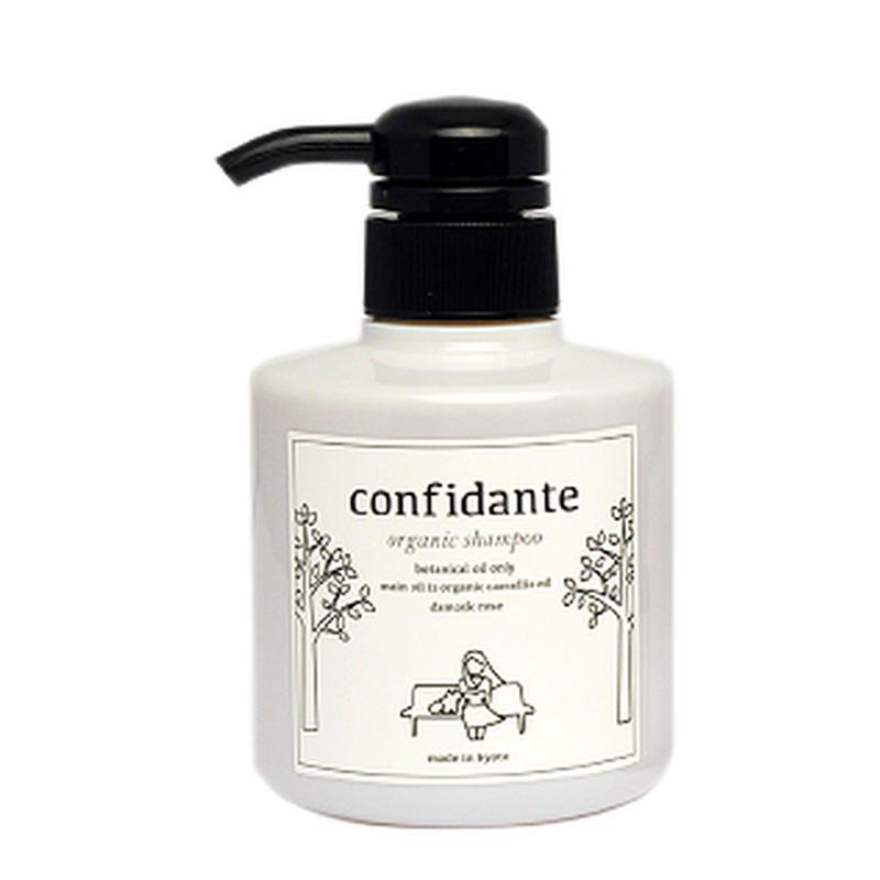 【犬用】confidante オーガニックシャンプー(ローズの香り)