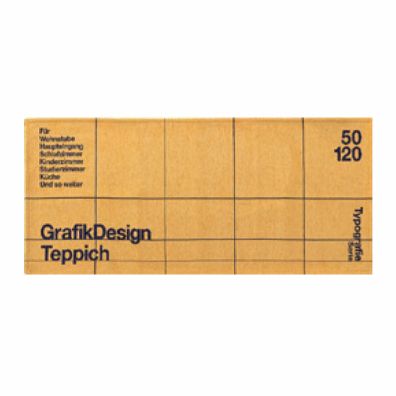 TYPOGRAPHY RUG (50 x 120cm)