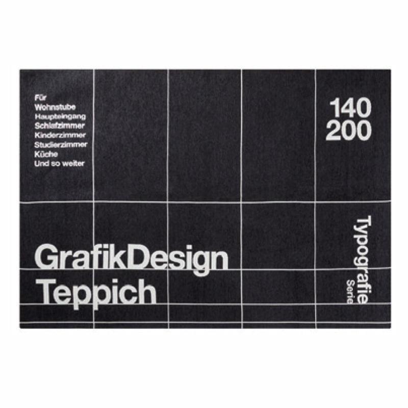 TYPOGRAPHY RUG (140 x 200cm)