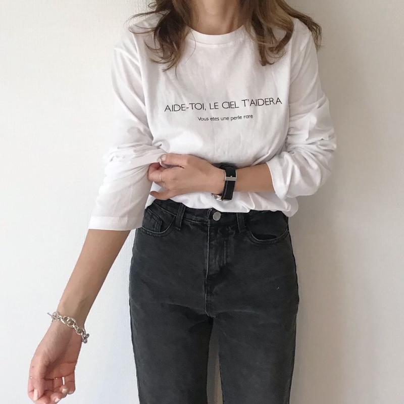 basic long T shirts
