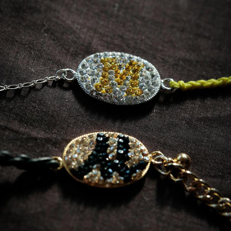 Mint & Silk セミオーダーイニシャルブレス