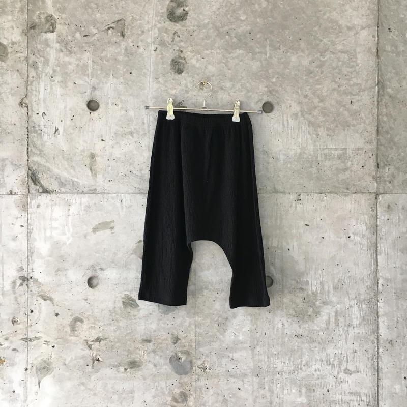 kids sarrouel pants (black)