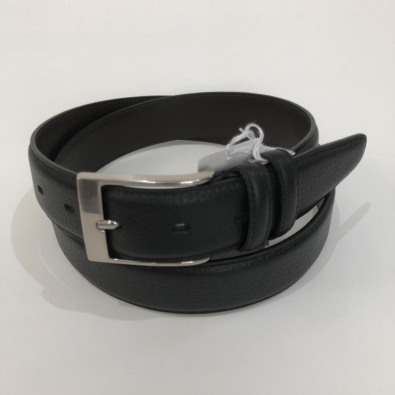 KIETH キース レザーベルト コード調ドレスベルト33mm ブラック KE21225