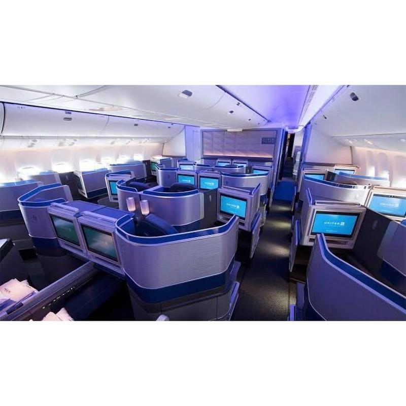 ユナイテッド航空 ビジネスクラス グローバルプレミアアップグレード