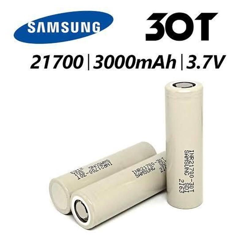 SAMSUNG 30T 21700 バッテリー