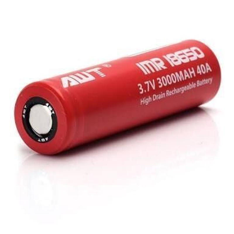AWT IMR 18650 バッテリー 3000mAh/40A