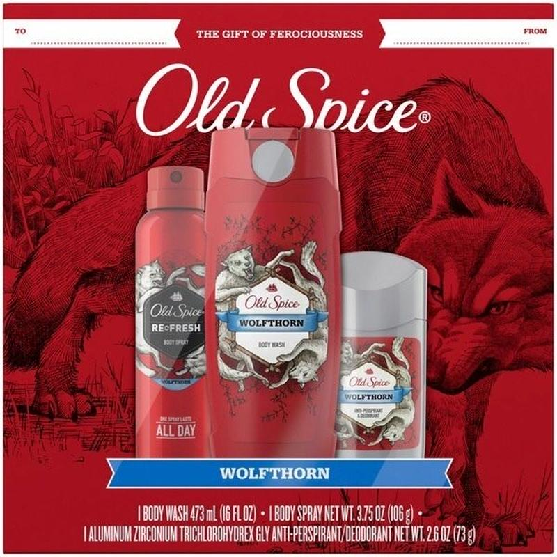 Old Spice WOLFHORN 3点セット