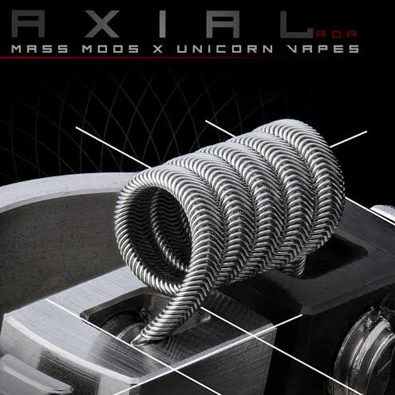 AXIAL RDA MASS MODS & UNICORN  VAPES