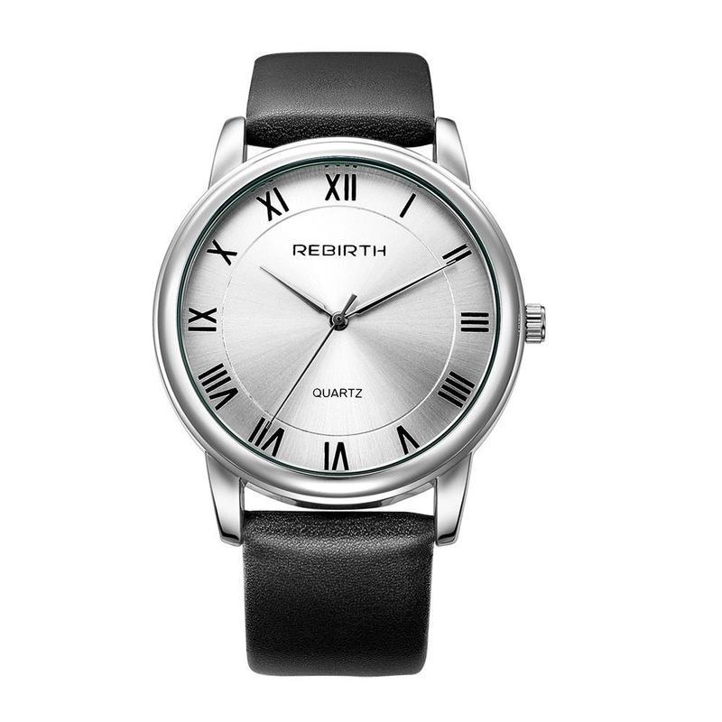 REBIRTH 腕時計革バンド ブラック