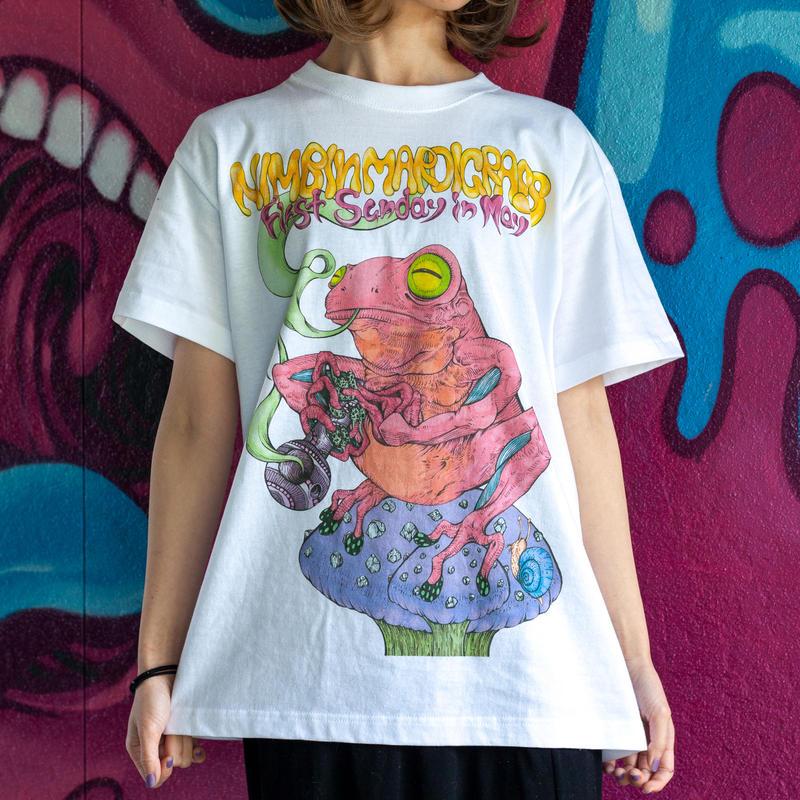 Nimbin Mardigrass Official Design T-shirt 2016