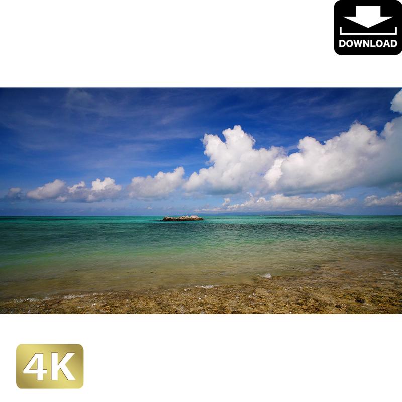 2039002 ■ 竹富島 カイジ浜星砂浜