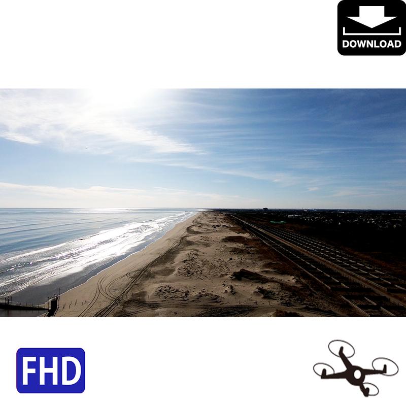4044021 ■ 九十九里海岸 ドローン