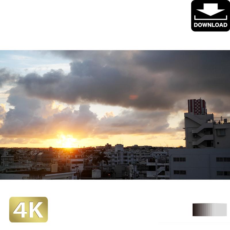 2038022 ■ 石垣島 石垣市の日の出