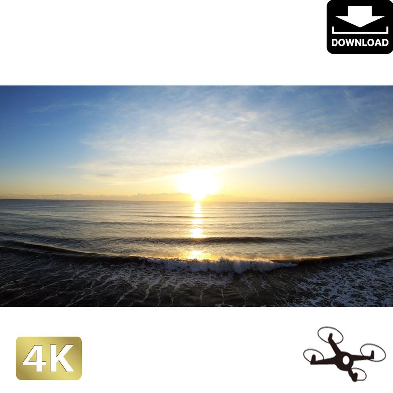 2047100 ■ 九十九里海岸 日の出