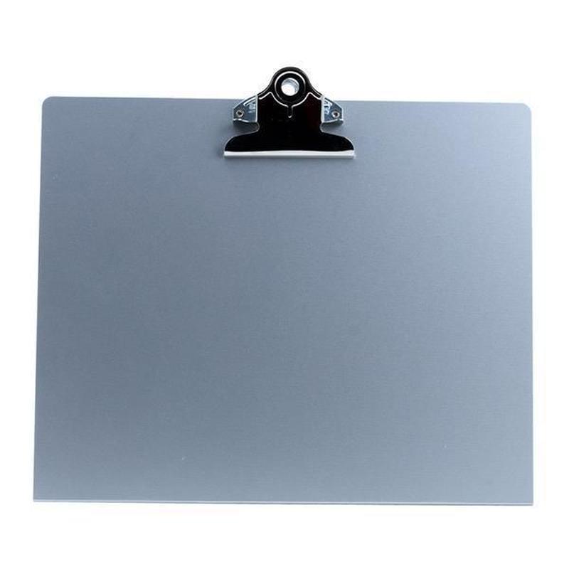 アルミニウム(スタンディングクリップボード 横)  - Letter Size