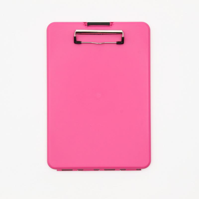 スリムメイト(A4サイズ クリップボード) -  ピンク