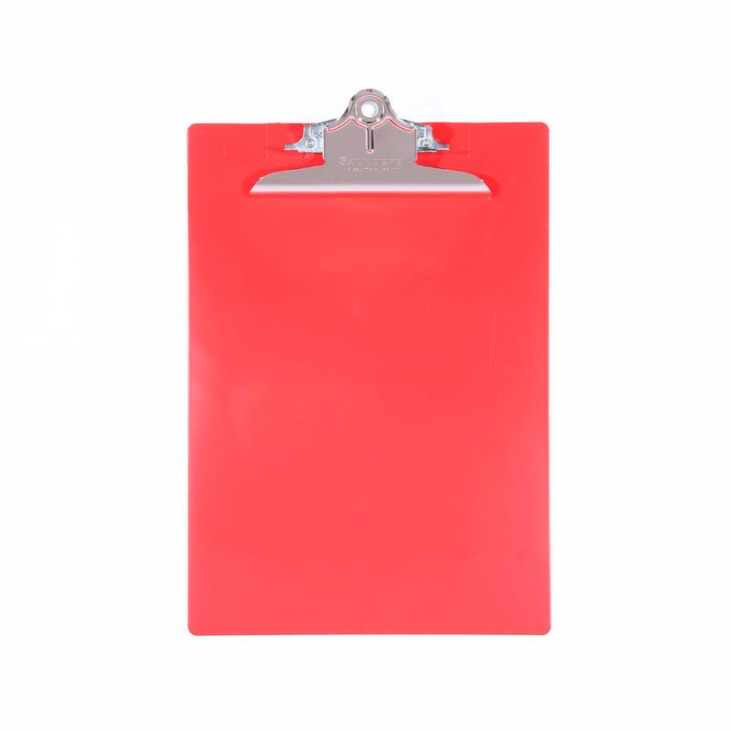 プラスチック(A4サイズ クリップボード) - レッド