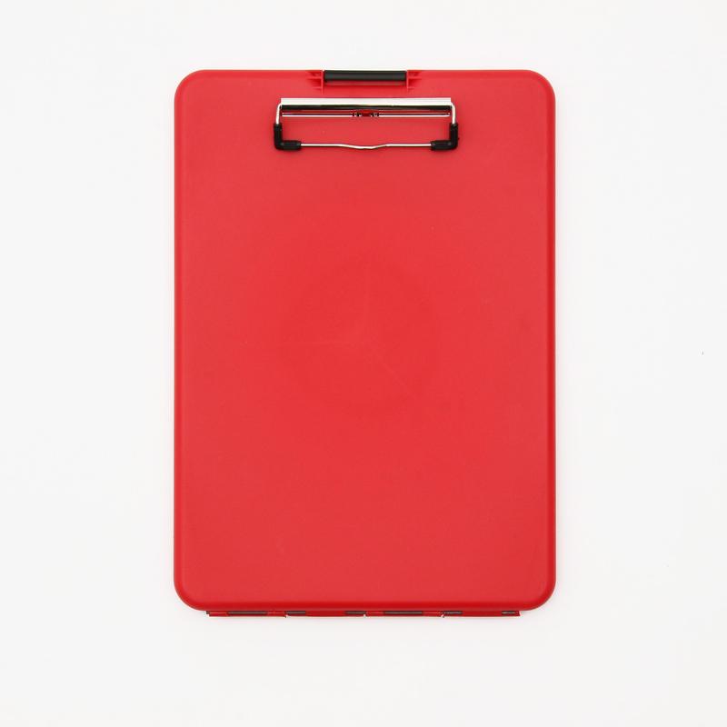 スリムメイト(A4サイズ クリップボード) - レッド